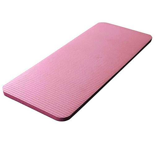 Lindhb Colchonetas De Yoga 25 Cm De Espesor Estera De Yoga Ejercicio Antideslizante Fitness Pilates Mat Ejercitador Esterilla Deporte (Size:60x25x1.5cm; Color:Grey)