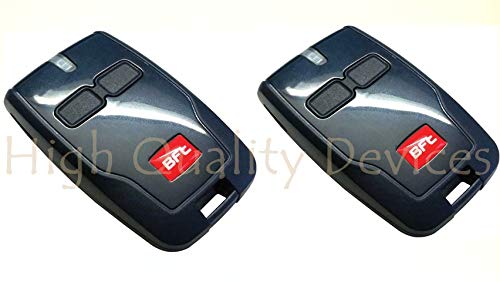 2x Remote BFT Mitto B RCB02 R1 2-channel remote control, 433,92Mhz Rolling code