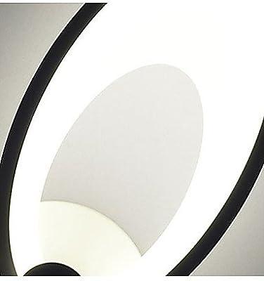Amazon.com: Lámpara de pared LED para dormitorio, diseño de ...
