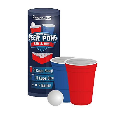 Original Cup KIT Beer Pong Red&Blue 22CUPS
