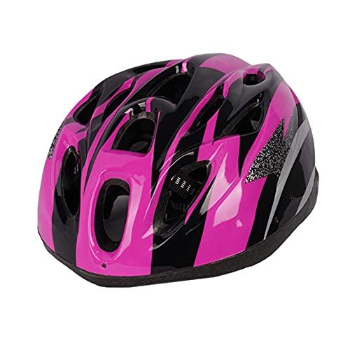 Qagazine Casco de bicicleta ultraligero tamaño ajustable Ciclismo bicicleta casco cómodo transpirable Ciclismo casco de bicicleta de montaña para protección de seguridad
