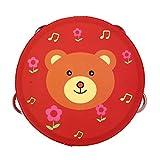 Toddmomy 1 Unidad de Pandereta de Madera para Bebés Juego de Batería para Niños Juegos de Instrumentos Musicales para Niños Juguetes Educativos de Madera para Niños Y Niñas