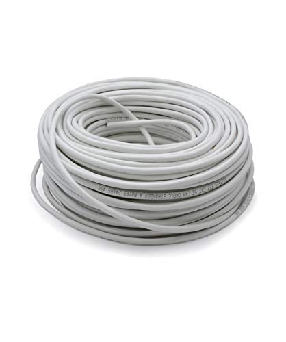 Vultech SC13602-100 Matassa Lan Categoria 6 FTP 100 Metri 23AWG Bobina di Rete Ethernet 100m Cat6