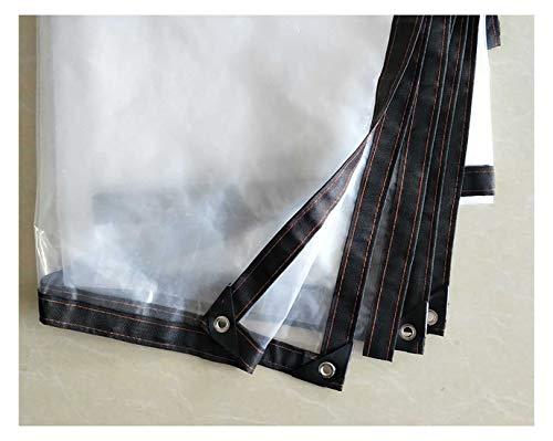 Tarpaulin-CZY Afdekzeil, schermbescherming, transparant, slijtvast, waterdicht, winddicht, polyethyleen, tuinwerk, aanpasbaar, meerdere afmetingen 2mX9m A