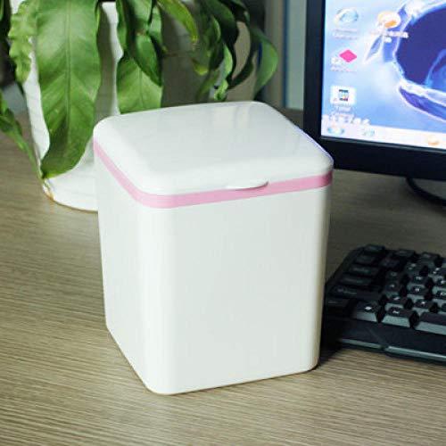 Sinzong kleine afvalbak, afvalbak, desktop-vuilnisemmer, oud papier voor op kantoor