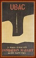 ポスター ラウル ウバック Espo 1978 額装品 ウッドハイグレードフレーム(ナチュラル)