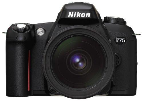 Nikon F75 Spiegelreflexkamera schwarz