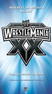 Wwe: Wrestlemania XX 2004 [VHS] [Import]