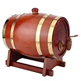 Jarra de Whisky Barril de Roble, Roble personalizada whisky o del barril de vino, premium calcinado, personalizada con el lujo del diseño, de los vinos, licores, cerveza y licor ( Size : 10l )