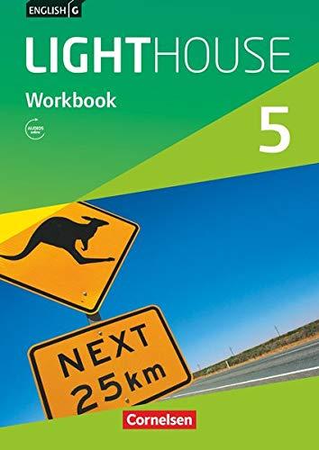 English G Lighthouse - Allgemeine Ausgabe / Band 5: 9. Schuljahr - Workbook mit Audio-Materialien: Workbook mit Audios online