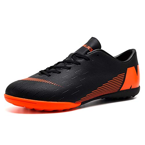 Botas de Fútbol Niño FG/TF Zapatillas Futbol Sala Niña Ligero Zapatos de Deporte Unisex Zapatos de Entrenamiento