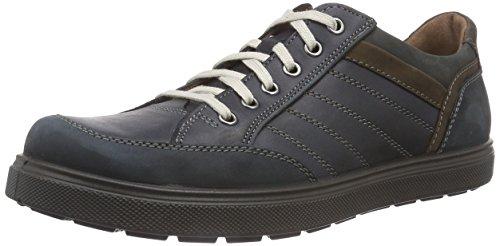 Jomos Trailer, Zapatos de Cordones Oxford Hombre, Multicolor-Mehrfarbig (Ozean/Ozean/Choco/Shark 155-8050), 44 EU