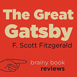 The Great Gatsby by F. Scott Fitzgerald, Expert Book Review audiobook cover art