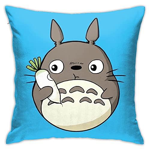 Dxddsdks Anime My Totoro - Funda de cojín para cojín (impresión 3D, suave y cómoda)
