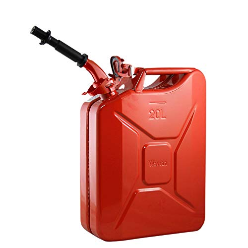 Wavian Authentic NATO Jerry Fuel Can, Red