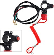 22mm Motorcycle Emergency Cut-off Double Flameout Trainer Switch for Scrambling Motorcycle ATV 49 CC Mini