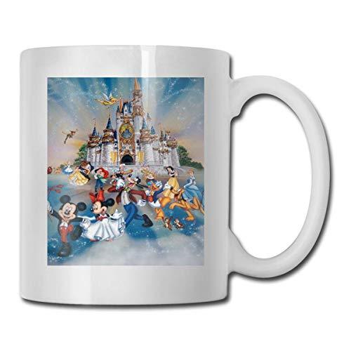 DI-SN-EY - Taza de cerámica para café (330 ml)