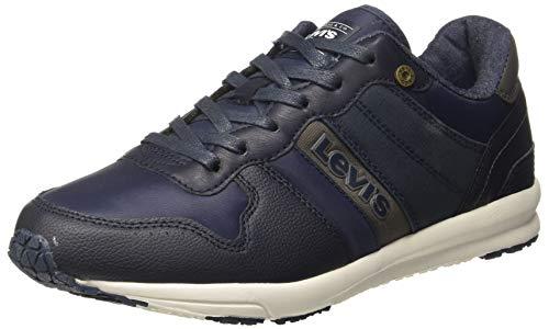 Levi's Men Baylor Sneakers Navy Blue 7 UK/India (40.5 EU) (38110-0689)