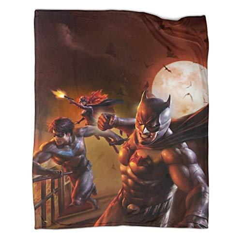 Kinderdecke Superhelden Batman Comic Bad Blood Luxus-Bettdecke (100 x 130 cm)