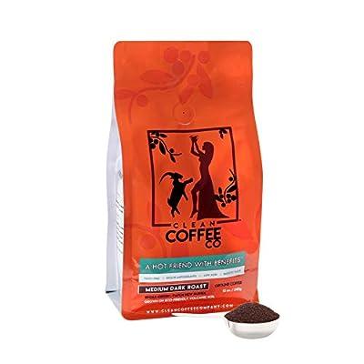 CLEAN COFFEE CO Medium Dark Roast Coffee from CLEAN COFFEE CO