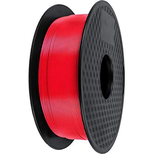 PLA Filament 1.75mm,GIANTARM 3D Drucker PLA filament 1kg Spool (Rote)
