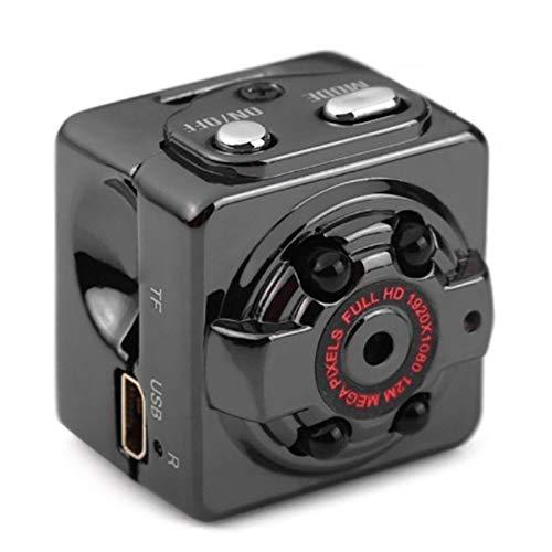 xiaoxioaguo Cámara inalámbrica DVR DV Mini cámara 1080P HD con sensor de visión nocturna