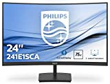 Philips 241E1SCA/00- Monitor Curvo de 23.6' FHD (1920X1080 Pixeles, 4 ms, Altavoces, FreeSync/AdptiveSync, FlickerFree,HDMI)