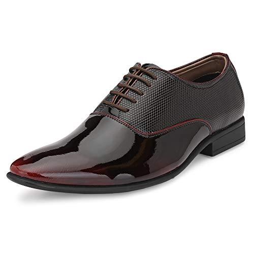 Nubeno Men's Cherry Formal Shoes - 7 UK (41 EU) (10022)