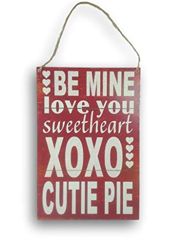 """Price comparison product image """"Follow Your Heart"""" Decorative Hanging Sign"""
