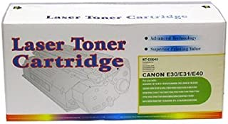 Canon Compatible 1491A002AA E-31 E31 E-40 E40 E40 Laser Toner Cartridge, 4,000 Pages, Black