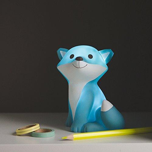 Nachtlicht Blau Fuchs für Kinder - Atelier Pierre