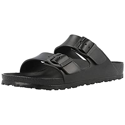 Birkenstock Unisex Arizona Essentials EVA Black Sandals - 37 N