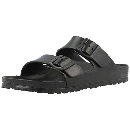Birkenstock Unisex Arizona Essentials EVA Black Sandals - 45 M EU/14-14.5 B(M) US Women/12-12.5 D(M) US Men