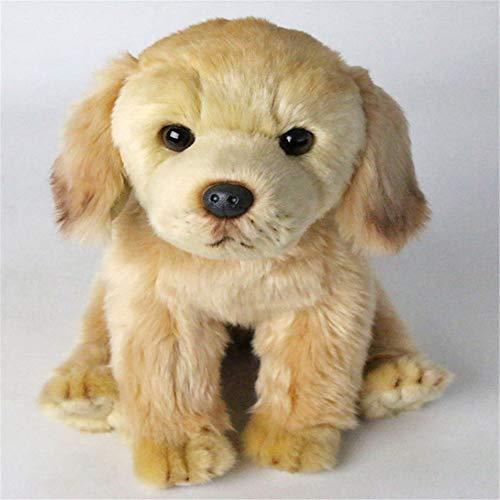 CHAOZHENG Peluche Labrador Perro Juguete Animal de Peluche Cachorro Mascota Niño Regalo de cumpleaños Regalo Hogar Tienda