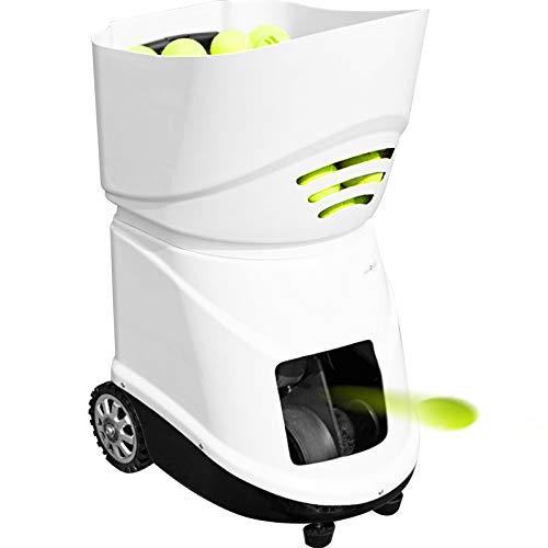 VEVOR Máquina de Pelota para Tenis Portátil Servicio Ligero de Pelota para Tenis Maquina para Tenis Adecuado para Profesionales y Principiantes (TS-06)
