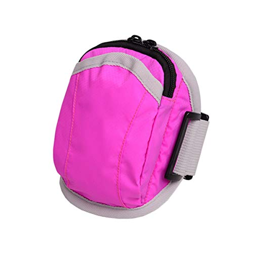 Running Sport Gym Keys Pouch Arm Wrist Bag Funda para iPhone 6 5S 5C 5 4S 4 Exquisitamente diseñado Duradero Precioso - Rosa