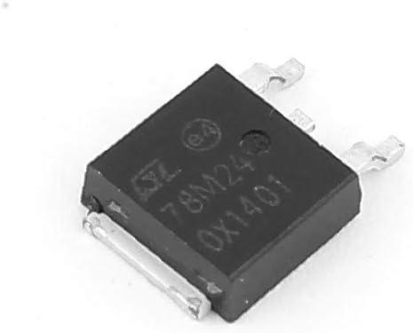 X-DREE 78M24 5-24V 0.5A 3 Terminal Transistor Positivo Regulador de voltaje IC (d00fecf6632c5dbd4044bfc319945031)