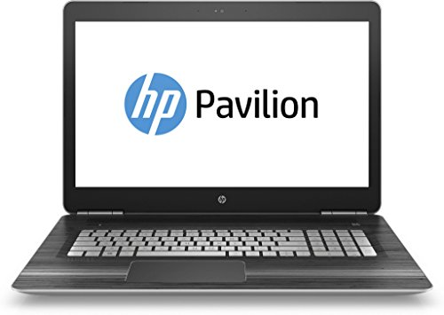HP Pavilion (17-ab203ng) 43,9 cm (17,3 Zoll / FHD IPS) Laptop (Intel Core i7-7700HQ, 16 GB RAM, 512 GB SSD, NVIDIA GeForce GTX 1050, Windows 10 Home 64) in schwarz/silber
