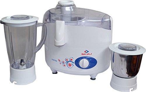 Bajaj Fresh Sip 450-Watt Juicer Mixer Grinder (White)