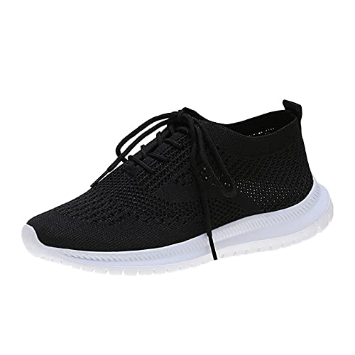 Bambas Mujer Zapatillas de Deporte Mujer Running Zapatos para Correr Antishock Gimnasio Sneakers Deportivas Transpirables Tennis Mujer