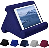 WINSHIDEN Tablet Pillow Stand, Pillow Soft Pad for Lap - Tablet Holder Dock for Bed with 6 Viewing Angles, for iPad Pro 9.7, 10.5,12.9 Air Mini 4 3, Kindle, Galaxy Tab, E-Reader