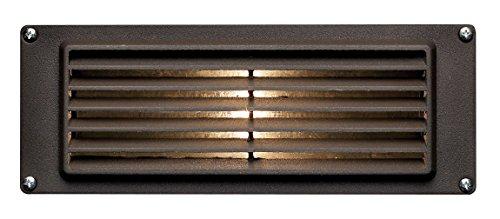 Hinkley 1594BZ-LED Deck Louvered LED Brick Light, Bronze