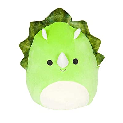 Squishmallows 19cm Super Soft Toy - Tristan Triceratops from Innovation First