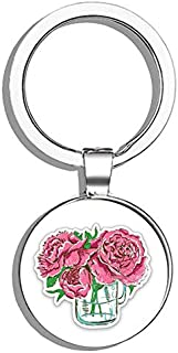 2.75in.x7mm Aluminum 1271A-PI SE Pink Keychain