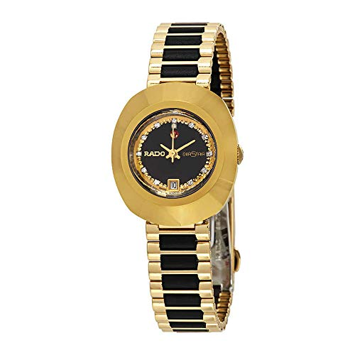 Rado Original Automatic Black Simili Stone Dial Ladies Watch R12416514