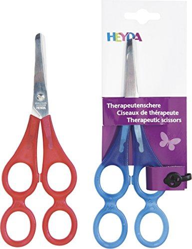 Heyda 204889521 Therapeutenschere 17 cm rund)