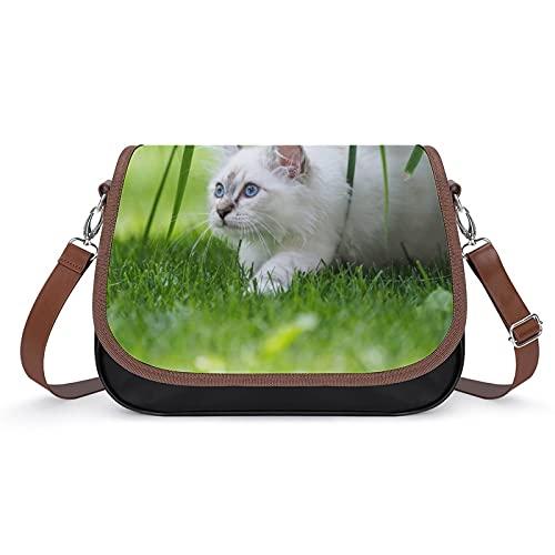 delayer Taschen Für Damen Katzengras Umhängetasche Handtaschen