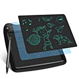 Enotepad LCD Writing Tablets, Drawing Doodle Board 9 Inch Digital eWriter for Kids Portable Electronic Graphics Black