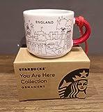 Starbucks You are Here England Ornament/Espresso-Tasse **2018 Christmas Edition** – 59 ml