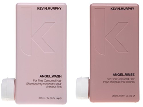 KEVIN MURPHY Angel Wash and Rinse for Fine Colored Hair Set, Pink, 8.4 ounce (pack of 1)